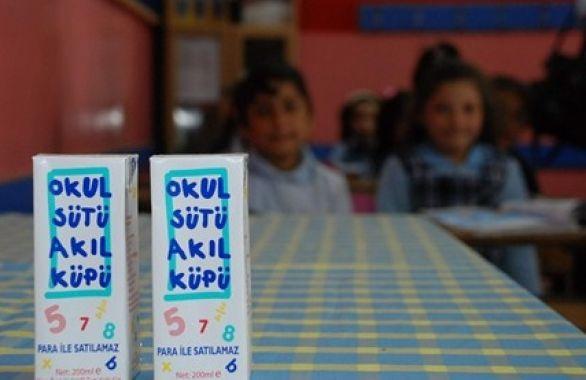 Okul sütü projesi öğrencileri hastanelik etti