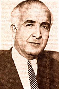 1961 Anayasası'nın hazırlayıcılarından hukukçu ve yazar Ordinaryüs Profesör Hıfzı Veldet Velidedeoğlu. tarihte bugün