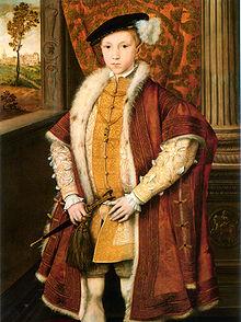 VI. Edward 9 yaşındayken ingiltere kralı oldu. tarihte bugün