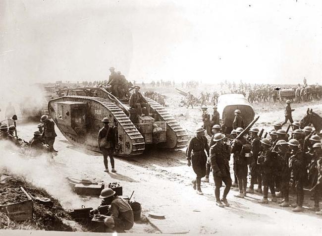 ABD fiilen Birinci Dünya Savaşına girdi.