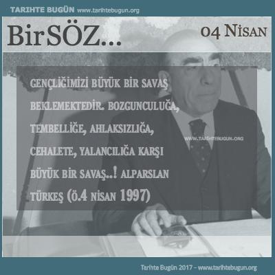 Alparslan Türkeş Öldü
