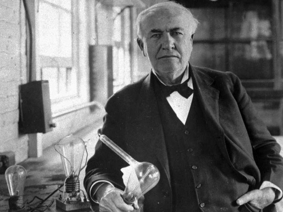 Ampulun Mucidi Thomas Edison öldü