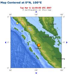 Endonezya'da 2 saat içinde 2 deprem meydana geldi. 68 kişi öldü, yüzlerce kişi yaralandı. tarihte bugün