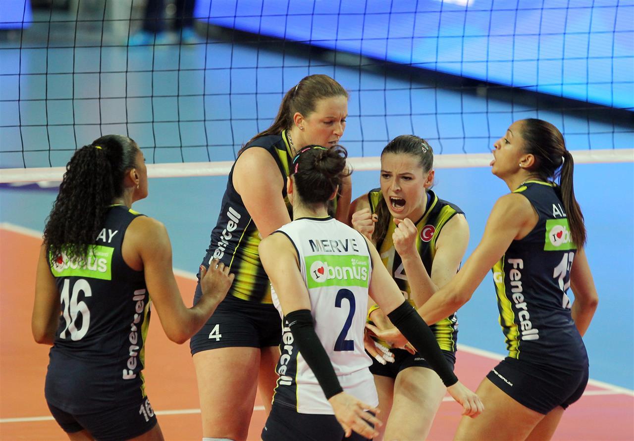 Fenerbahçe Bayan Voleybol Takımı Avrupa Şampiyonu
