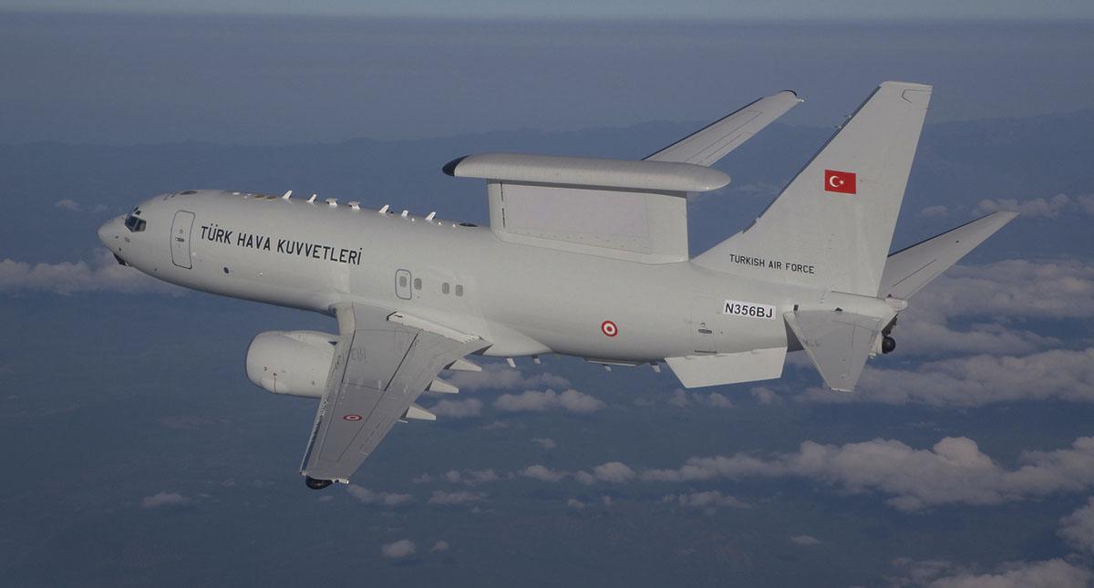 Barış Kartalı Projesi kapsamında alınan; Havadan İhbar Kontrol (HİK) uçağı, düzenlenen törenle Hava Kuvvetleri Komutanlığı envanterine katıldı.  tarihte bugün