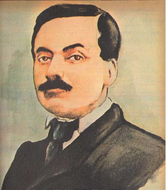 Tanzimat devri şair ve yazarlarından Şinasi. tarihte bugün