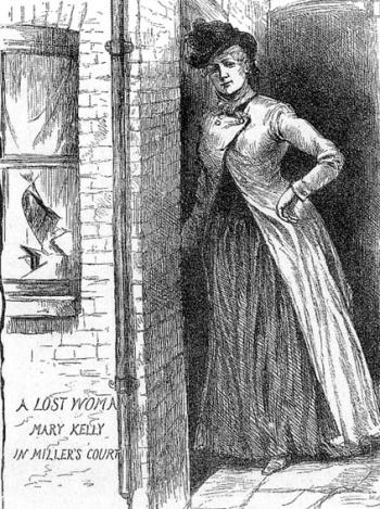 Karındeşen Jack beşinci kurbanı olan Mary Jane Kelly'yi öldürdü. tarihte bugün