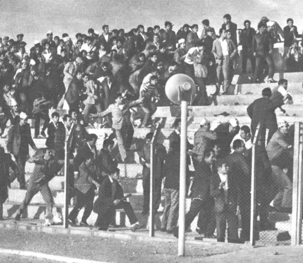 Kayseri Futbol Stadyum faciası