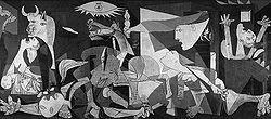 Picasso'nun Guernica tablosu 40 yıl sonra Amerika Birleşik Devletleri'nden İspanya'ya döndü. tarihte bugün
