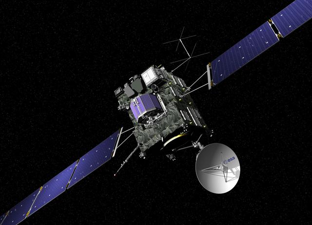 Rossetta Uzay Aracından ilk bilgiler