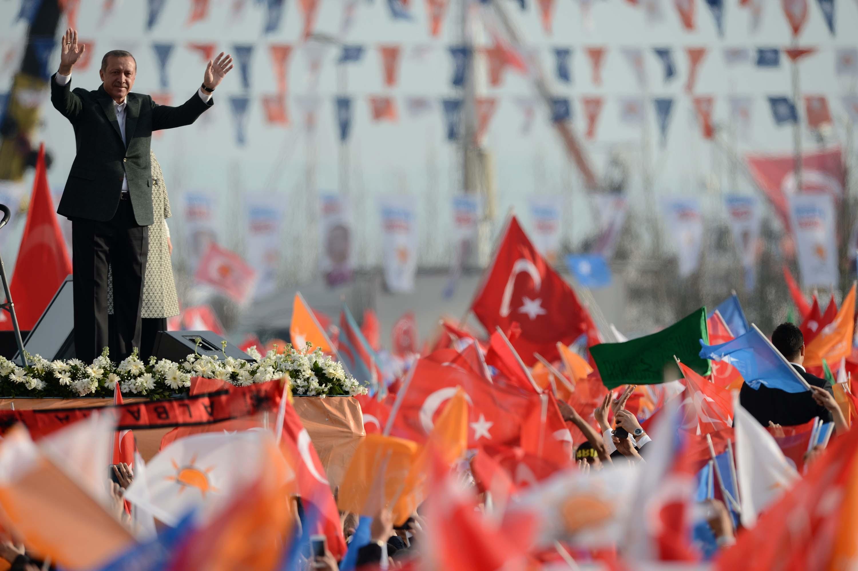 İstanbul'da mitinglerin yapılması amacıyla düzenlenen Yenikapı Meydanı, Başbakan Recep Tayyip Erdoğan önderliğinde AK Parti'nin