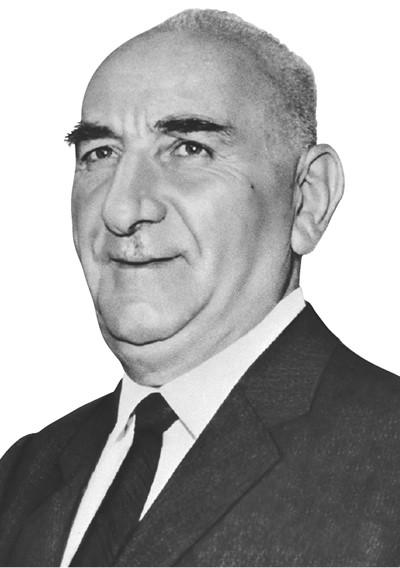 Türkiye'nin 4. Cumhurbaşkanı Cemal Gürsel. tarihte bugün