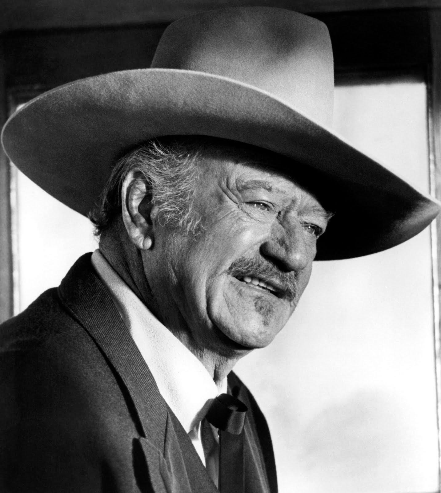 Amerikalı aktör John Wayne. tarihte bugün