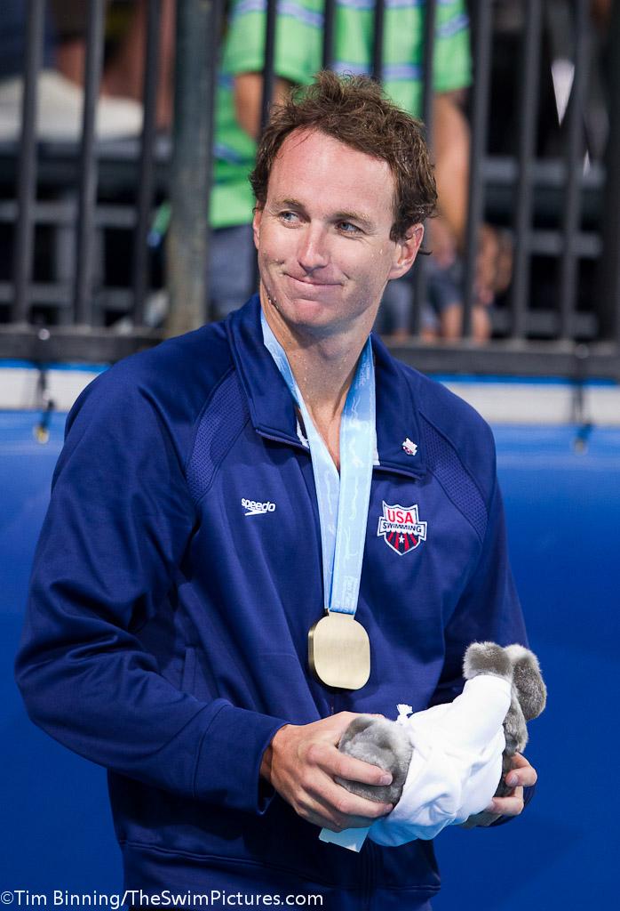 Aaron Peirsol, Amerikalı sporcu yüzücü tarihte bugün