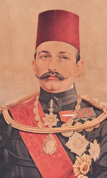 Abbas Hilmi Paşa, Osmanlı dönemindeki son Mısır valisi (DY-1874) tarihte bugün