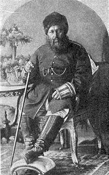 Abdurrahman Han, Afgan emiri (DY-1844) tarihte bugün