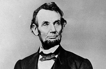 Abraham Lincoln, ABD başkanı  tarihte bugün