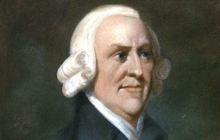 Emek-değer teorisine katkılarıyla bilinen İskoçyalı liberal iktisatçı Adam Smith. tarihte bugün