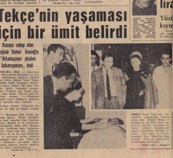 Ahmet Tarık Tekçe nasıl öldü trafik kazası
