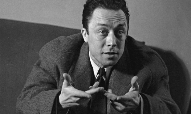 Veba adlı romanıyla ünlü Fransız yazar Albert Camus. tarihte bugün