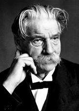 Albert Schweitzer, Nobel Barış Ödülü sahibi Alman doktor (DY-1875) tarihte bugün