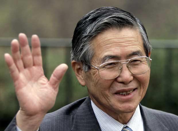 Alberto Fujimori, Peru devlet başkanı tarihte bugün