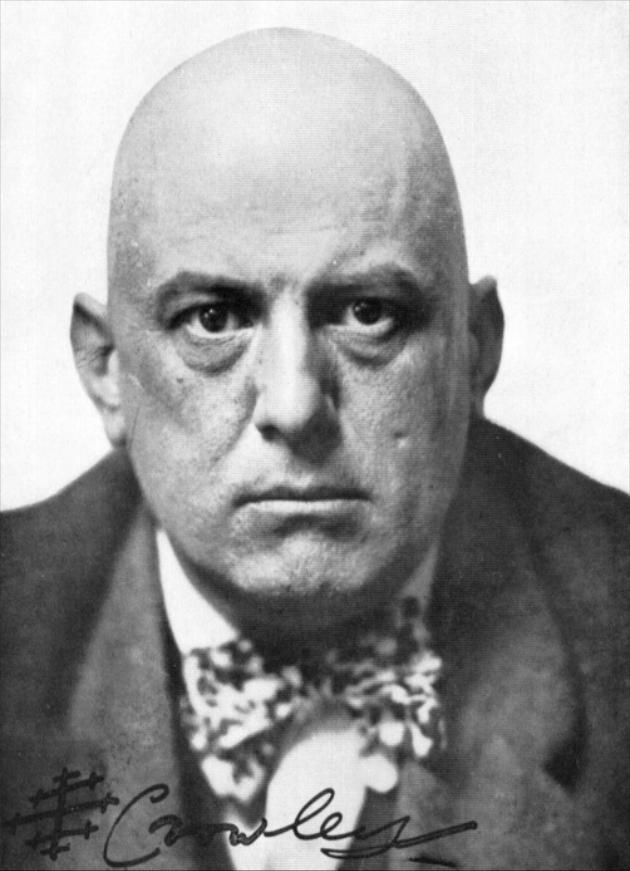 Aleister Crowley, ingiliz yazar (ÖY-1947)
