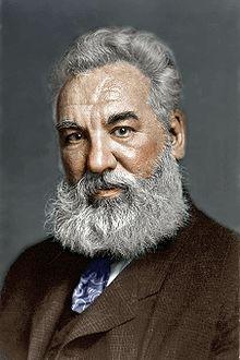 Alexander Graham Bell, telefonun mucidi (DY-1847) tarihte bugün