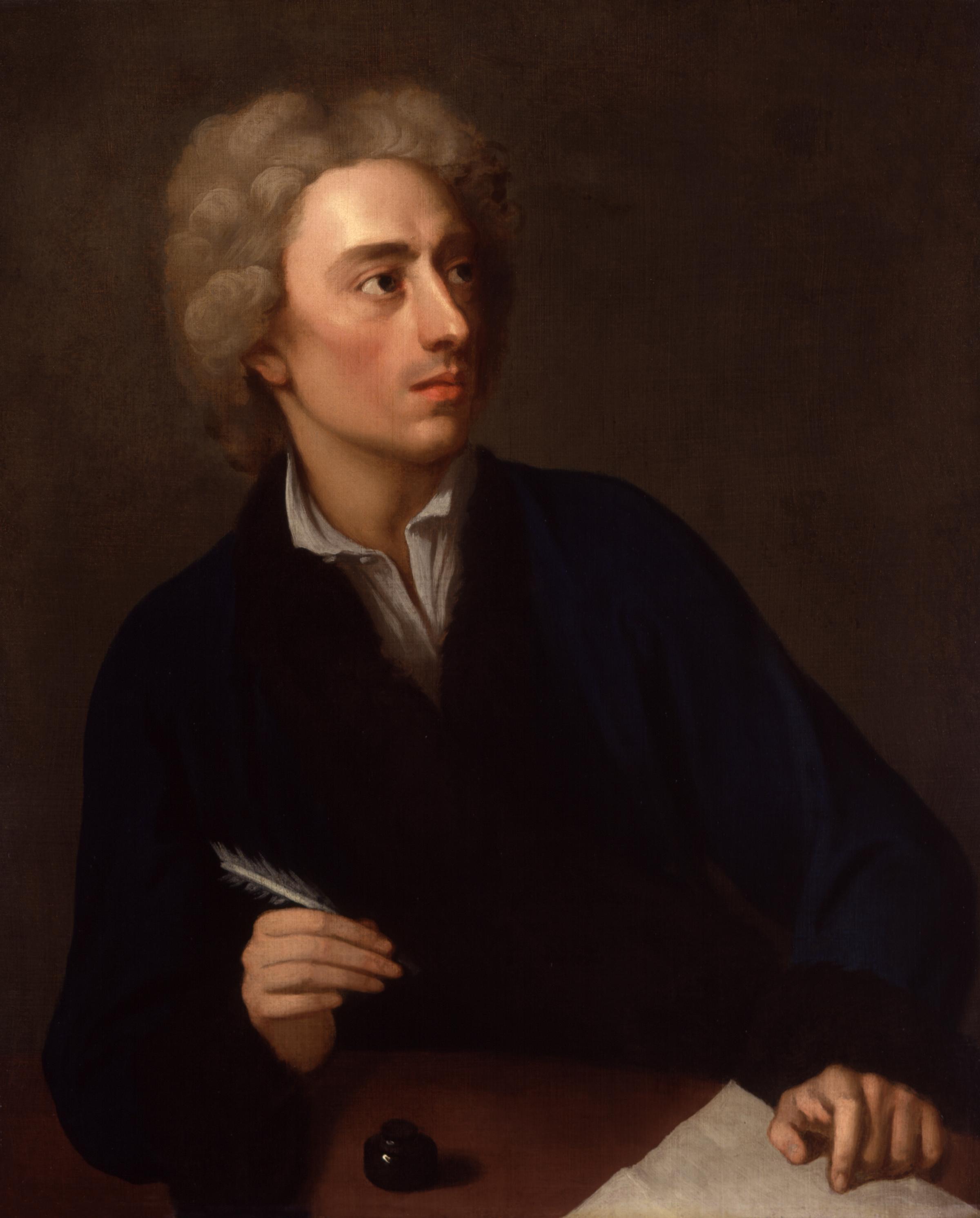 Alexander Pope ,The Dunciad (1728-42), Moral Essays (1731-35) and Essay on Man (1733) gibi romanların yazarı. tarihte bugün