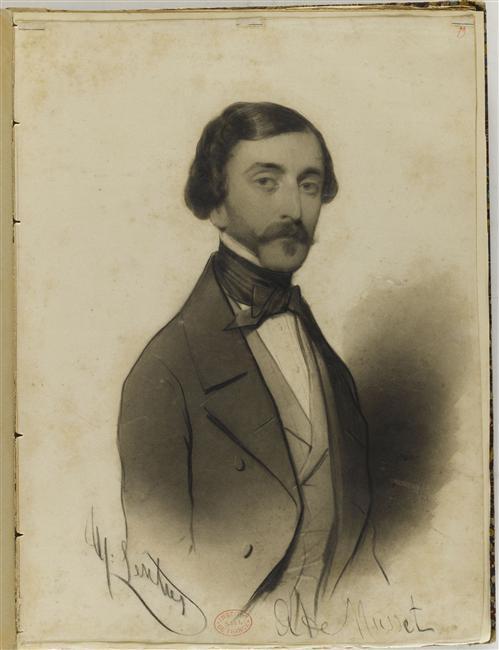 Alfred de Musset kimdir ölüm tarihi