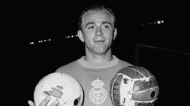 Alfredo Di Stefano, Arjantin doğumlu futbolcu (DY-1926) tarihte bugün