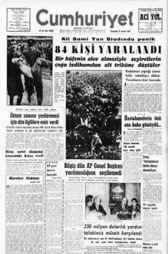 Ali Sami Yen Stadı açıldı izdiham