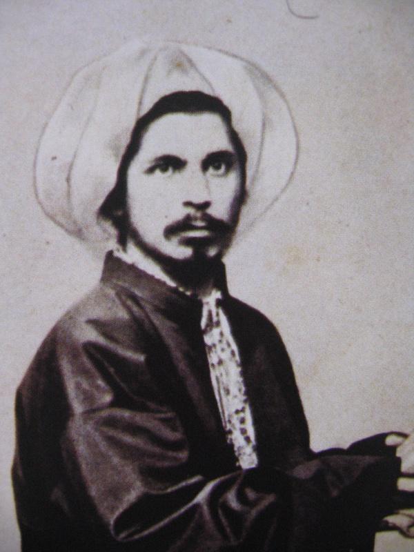 Ali Suavi, Sarıklı ihtilalci, gazeteci, yazar (DY-1839) tarihte bugün