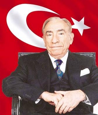 Alparslan Türkeş, siyasetçi (ÖY-1997) tarihte bugün