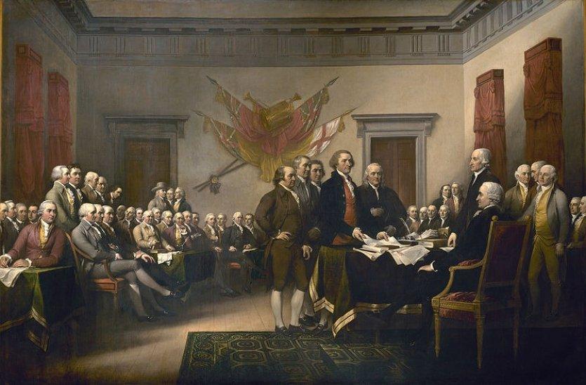 Amerikan Bağımsızlık günü; Amerikan Kongresi Britanya'dan bağımsızlığını ilan etti. tarihte bugün