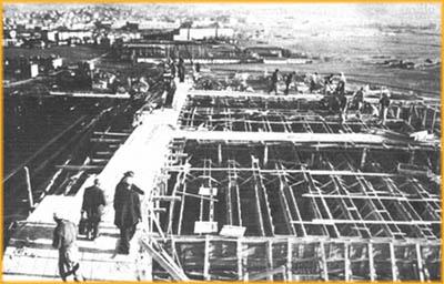 Anıtkabirin temel atılışı. Başbakan ޞükrü Saracoğlu, Anıtkabirin temelini attı. tarihte bugün