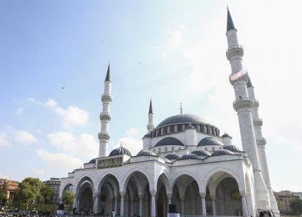 Ankara Ulus Melike Hatun Camisi Açıldı