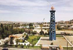 Başbakan İsmet inönü, Ankarada paraşüt kulesinin açılışını yaptı. tarihte bugün