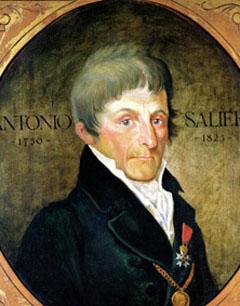 Antonio Salieri, italyan besteci (ÖY-1825) tarihte bugün