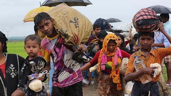 Arakan Kan Ağlıyor Siviller ölüyor Insani Felaket