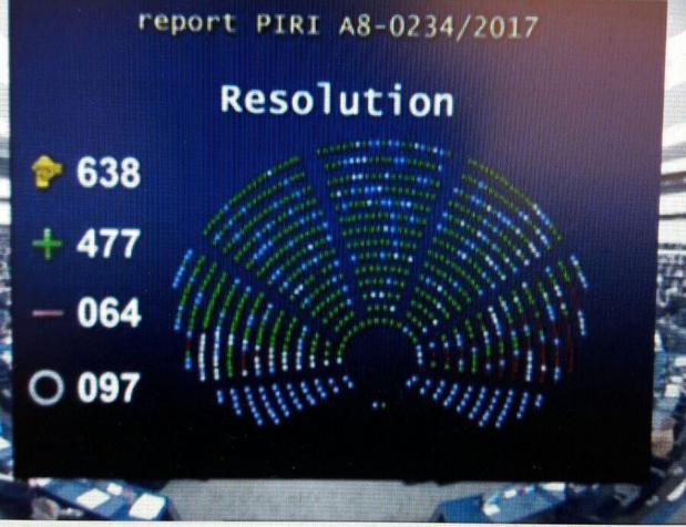 Avrupa Parlamentosunda AB-Türkiye müzakerelerinin dondurulmasını öngören rapor 477 oy ile kabul edildi. i. Karara Türkiye'den sert tepki geldi tarihte bugün