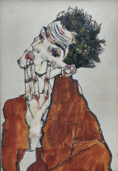 Egon Schiele, Avusturyalı ressam (ÖY-1918) tarihte bugün