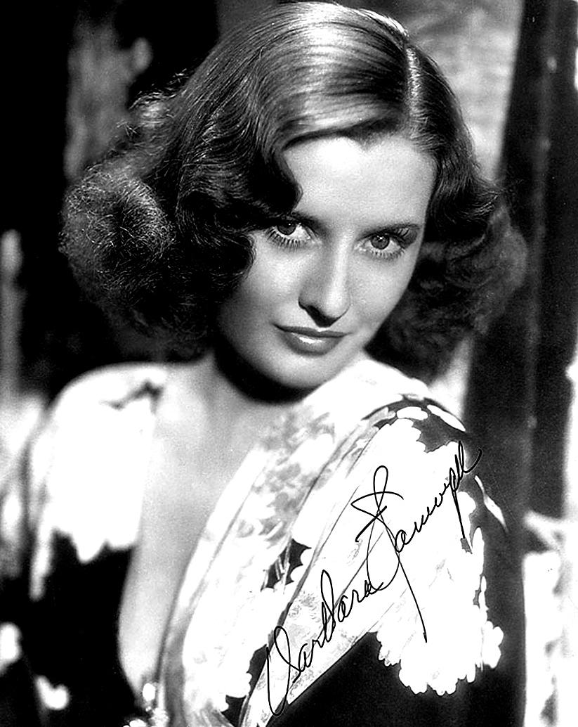 Barbara Stanwyck, Amerikalı aktris (DY-1907) tarihte bugün