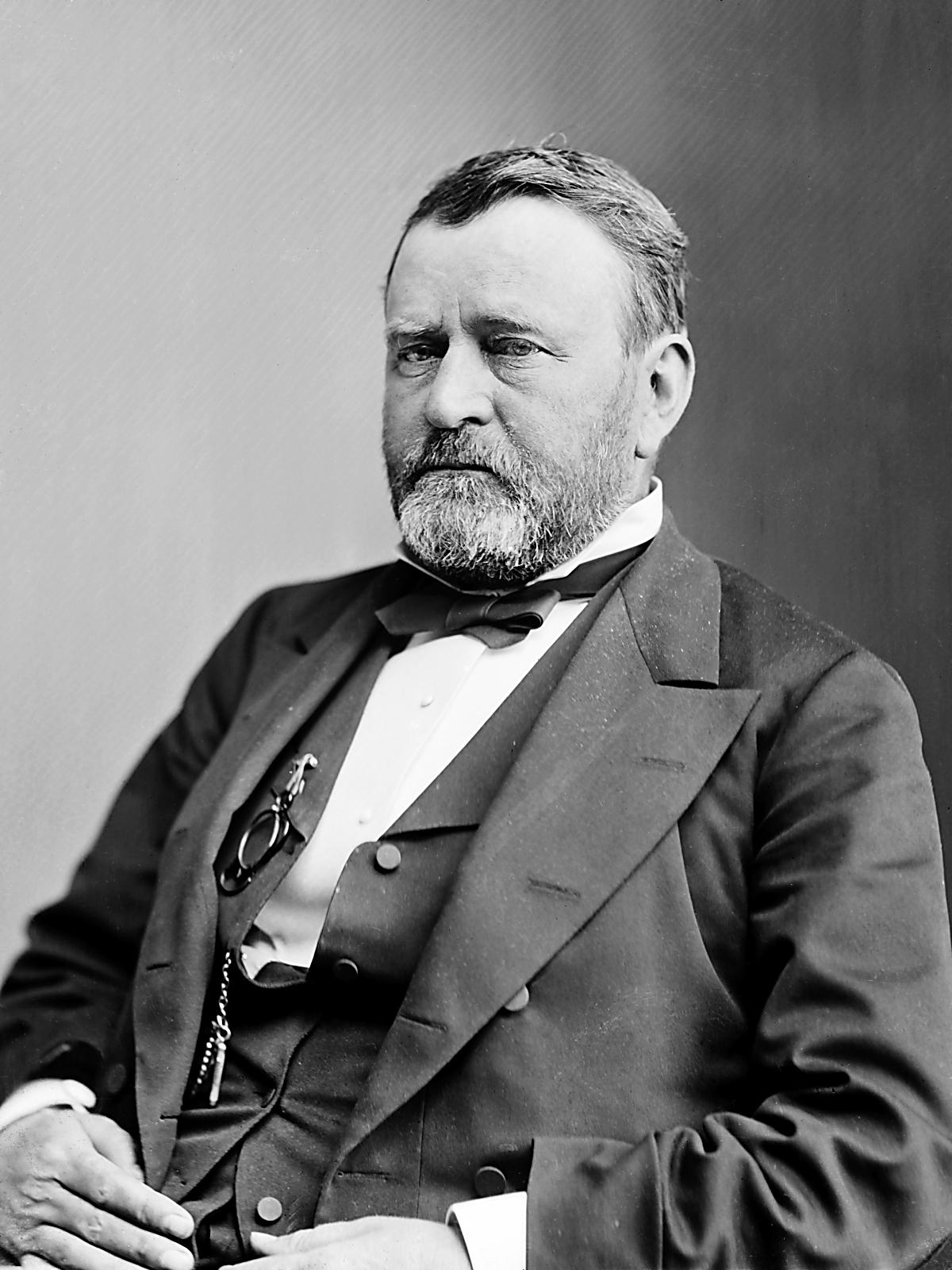 Ulysses S. Grant, Amerikanın 18. başkanı (DY-1822) tarihte bugün