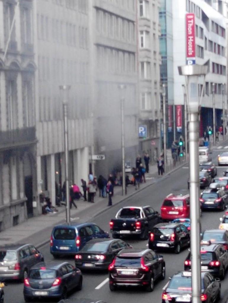 Belçika Brüksel Bombalı Intihar Saldırısı