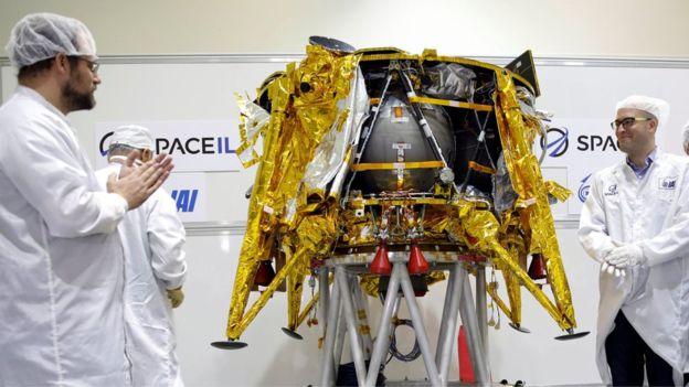 Bereşit Uzay Aracı Aya Gönderildi