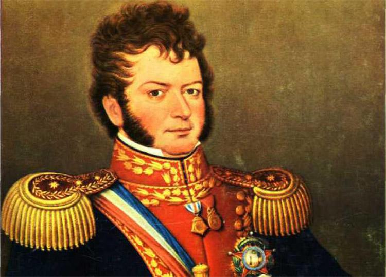 Bernardo OHiggins, Güney Amerikalı devrimci (ÖY-1842) tarihte bugün