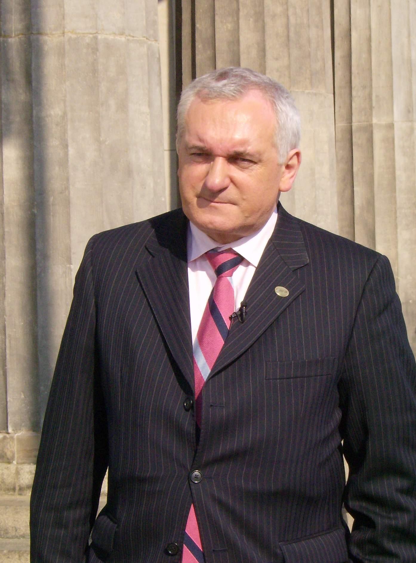Bertie Ahern Irlandalı Doğdu