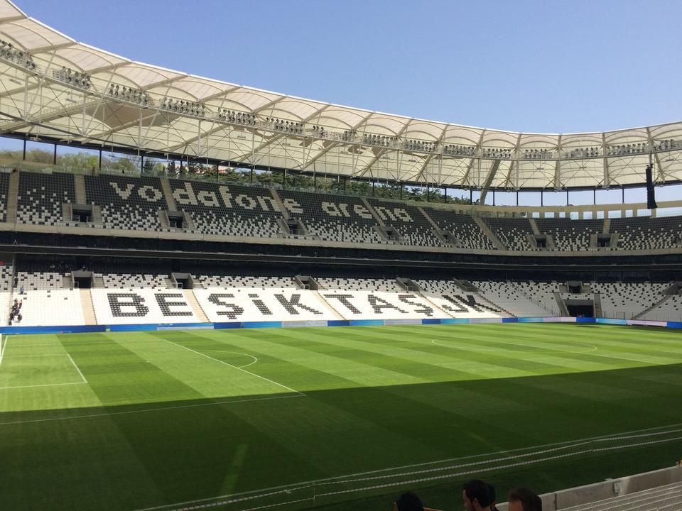 Beşiktaş Stadyumu Vodafone Arena Açıldı
