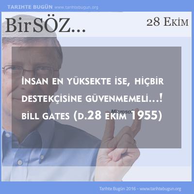 Bill Gates kimdir doğum tarihi yaşı
